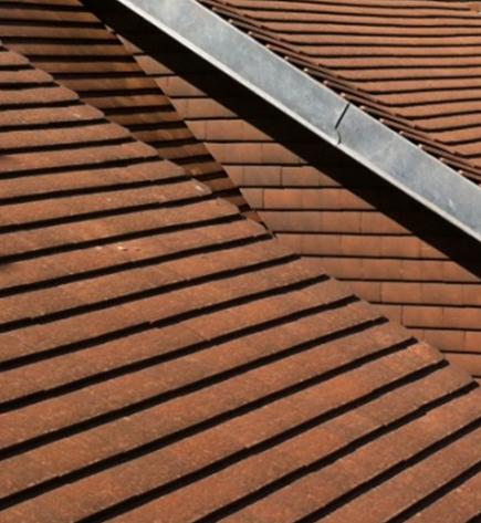 Photo de toiture en tuile plate
